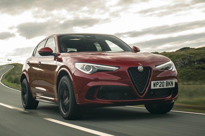 Alfa Romeo Stelvio Quadrifoglio 2020 front cornering