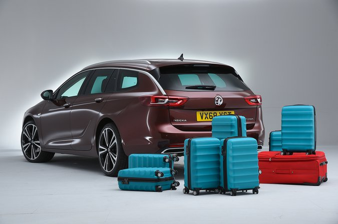 What Car? suitcase test - Vauxhall Insignia Sports Tourer