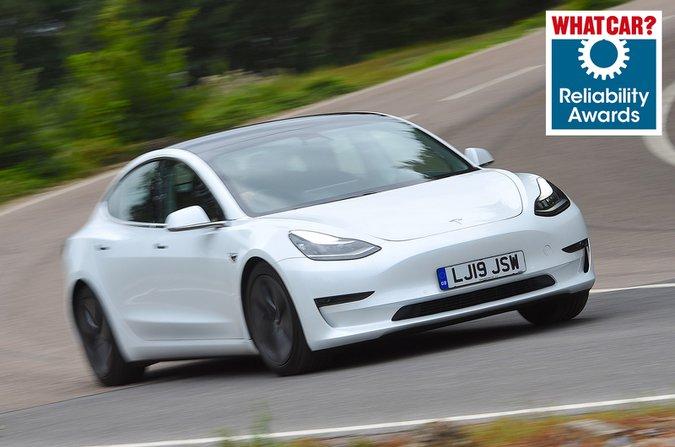 Reliability Awards - Tesla Model 3