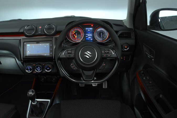 Suzuki Swift Sport 2020 RHD dashboard