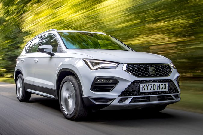 Seat Ateca 2021 front tracking