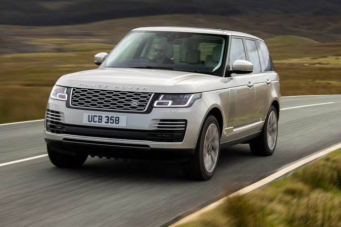 Range Rover 2021 front tracking