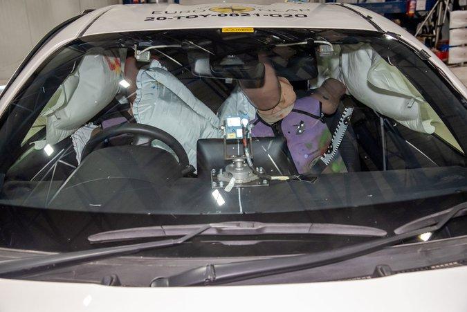 Toyota Yaris crash test