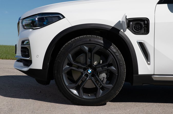 BMW X5 run-flat tyres