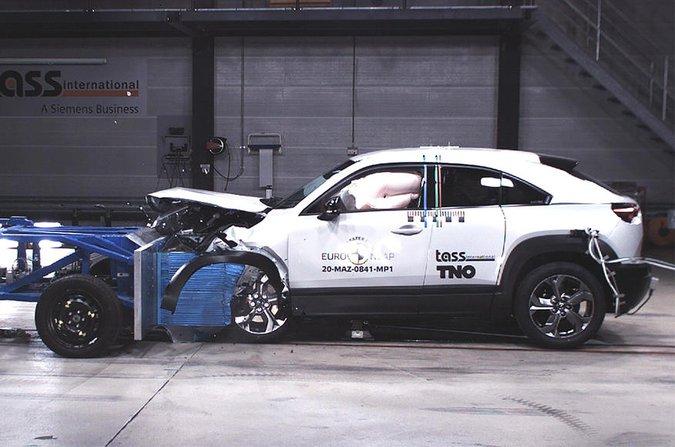 Mazda MX-30 Euro NCAP crash test