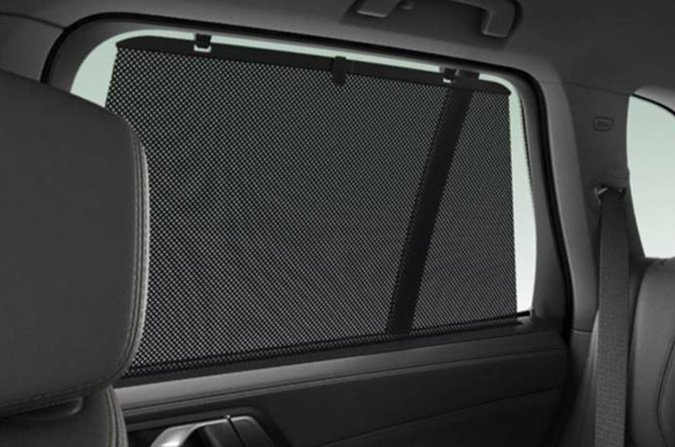 BMW X5 roller blinds