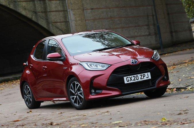 Toyota Yaris 2021 front