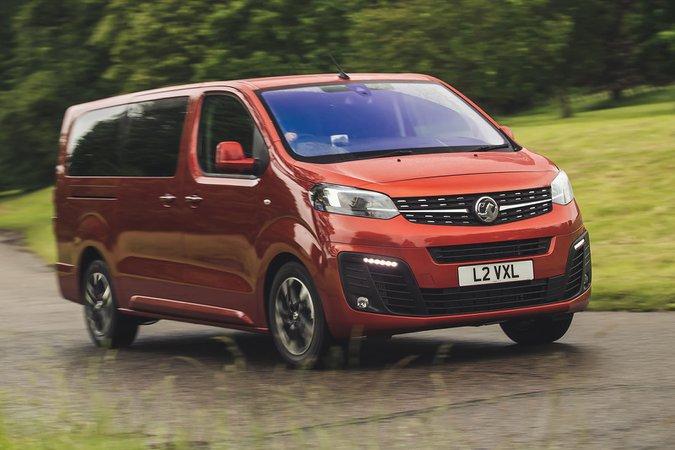 Vauxhall Vivaro-e Life 2020 three quarters tracking