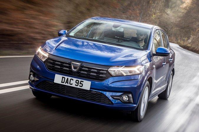 Dacia Sandero 2021 front