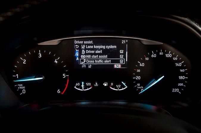 Ford Fiesta TFT display