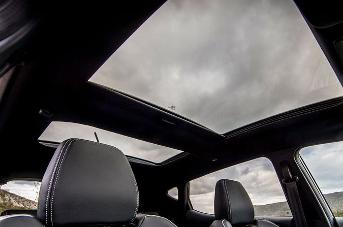 Ford Fiesta sunroof