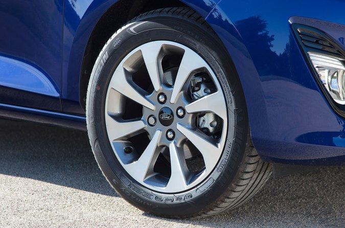 Ford Fiesta spare wheel