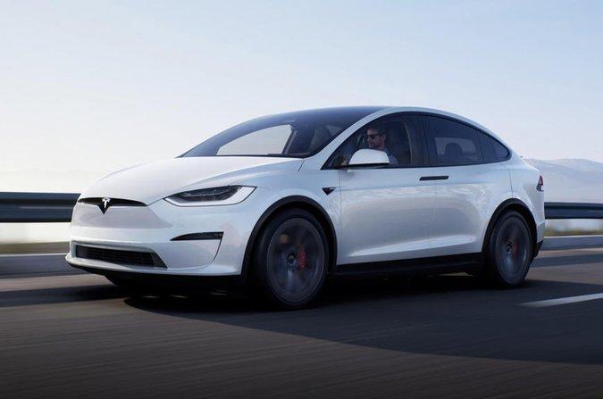 Tesla Model X 2022 anteriore