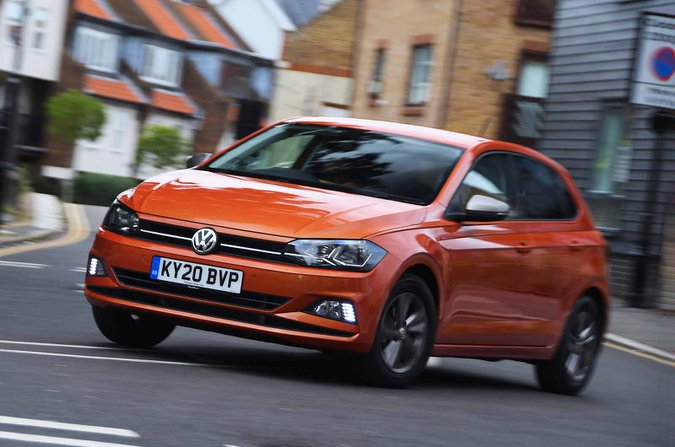 Volkswagen Polo 2021 front
