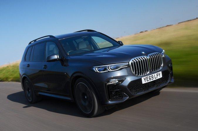 BMW X7 2021 front