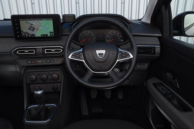 Dacia Sandero 2021 RHD cruscotto