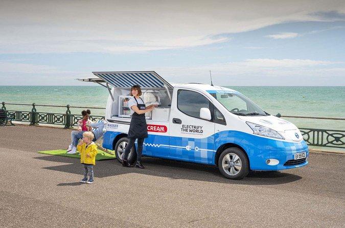 e-NV200 ice cream van
