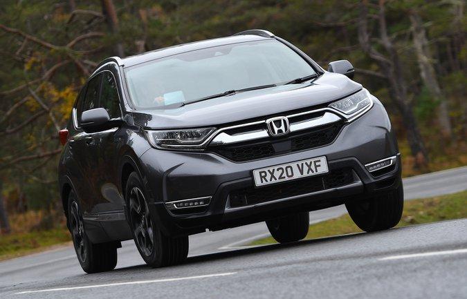 Honda CR-V 2021 ön viraj