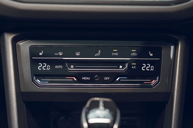 Volkswagen Tiguan heated windscreen