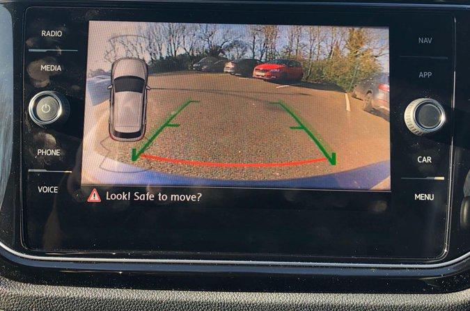 Volkswagen rear-view camera system