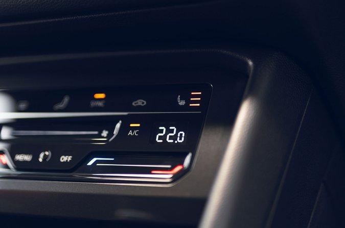 Volkswagen Tiguan centre console