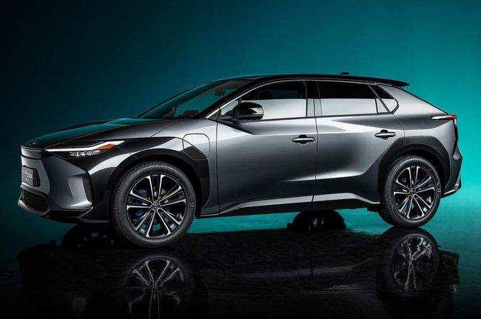 Toyota BZ concept car