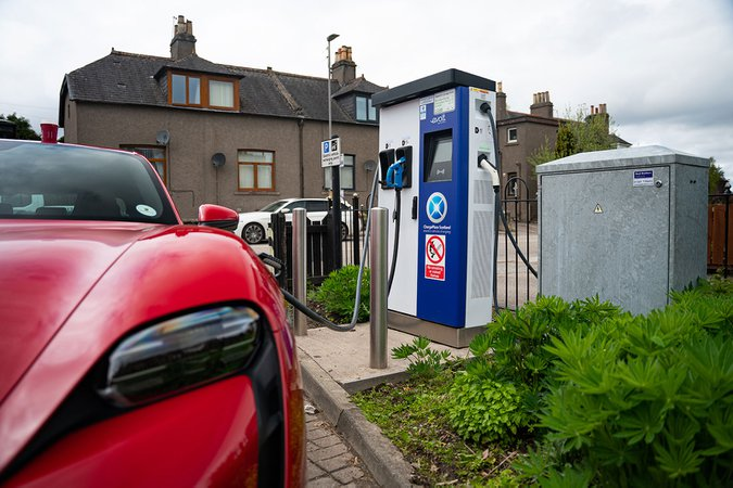 Charge Place Scotland charging station