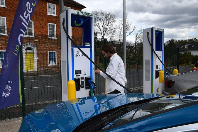 BP Pulse charging station