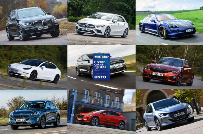 Electric Car Awards 2020 header
