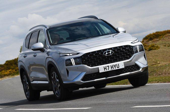 Hyundai Santa Fe 2021 front