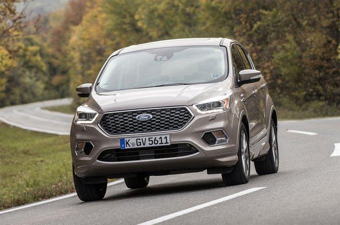 Ford Kuga Vignale 2017 German plates
