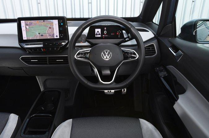 Volkswagen ID.3 2021 dashboard
