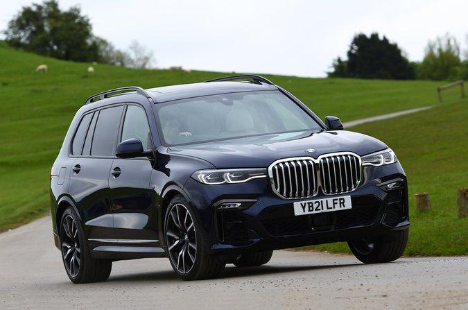 BMW X7 2021 ön