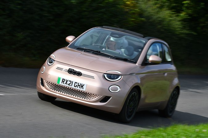Fiat 500 cabriolet anteriore