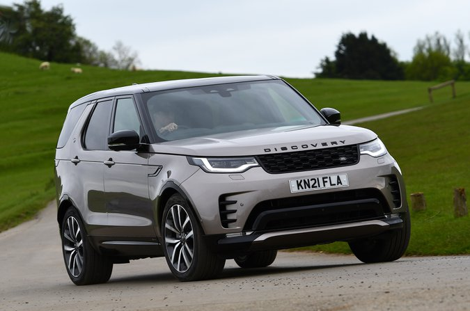 Land Rover Discovery 2021 front