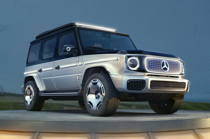 Mercedes EQG front