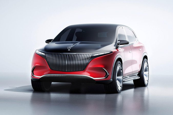 Mercedes Maybach EQS front