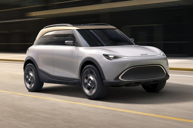 Smart Electric SUV front