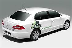 Low-emission Skoda Superb launched