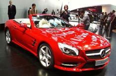 Detroit motor show 2012: Mercedes SL