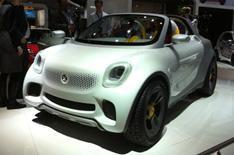 Detroit 2012: Smart For-us concept