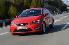 Seat Leon Cupra - more bhp than Golf GTI