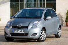 Toyota Yaris TR trim upgraded