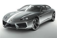 Lamborghini Estoque breaks cover