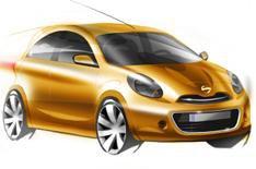 New Nissan Micra at Geneva show