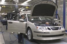 Saab halts production, again
