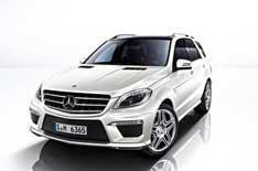 Mercedes ML63 AMG prices announced