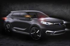 Ssangyong shows SUV concept