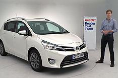 Readers review new Toyota Verso
