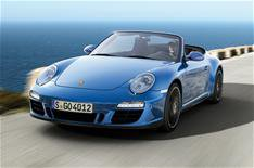 New four-wheel drive Porsche 911 GTS